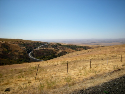 Cabbage Hill on the Oregon Trail