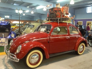 A Volky. PR nickname for the VW bug