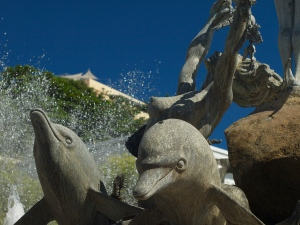 Fountain in Old San Juan Puerto Rico