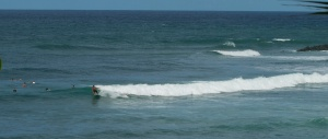 Surf on the western side of PR near Ricon