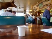 Coffee with the locals, alive and dead. Eastern Oregon 2010