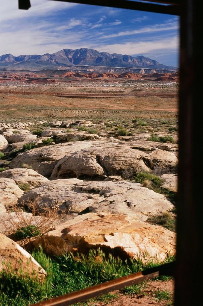 Trail Head for Bear Claw-Poppy, Saint George Utah