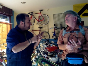 Talking bicycles creates bridges across nations and generations.