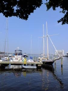 The Norfolk Virginia waterfront