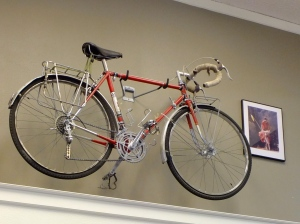 June Siple's bike from the Hemistour expedition