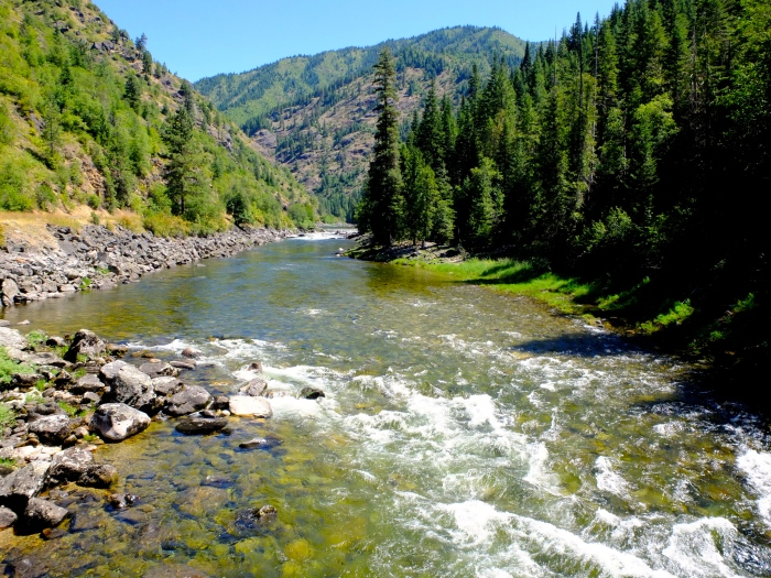 The Lochsa River Idaho