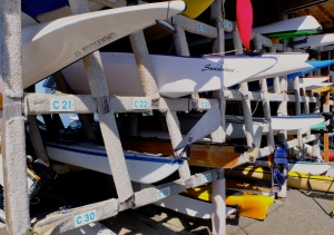 Watercraft options and storage at the Community Boat Center
