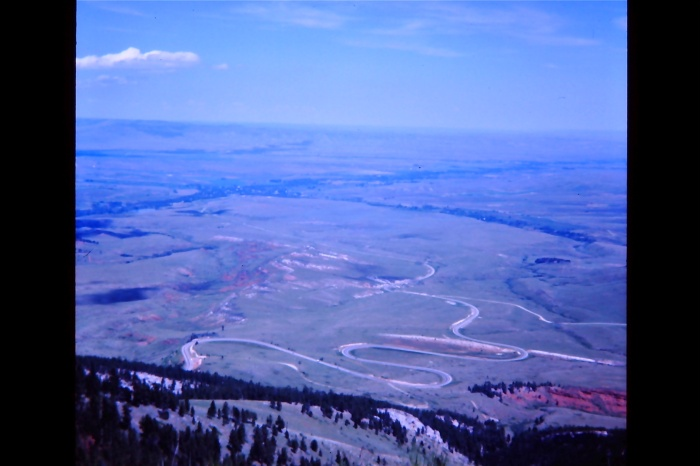 Cycling xc 1975 - Wyoming