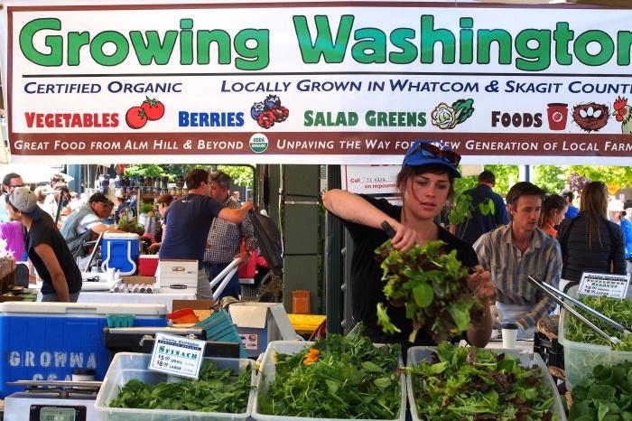 Saturday Market, Bellingham Washington