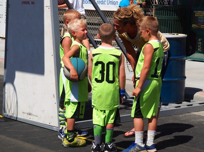 Basketball tournament Lynden Washington