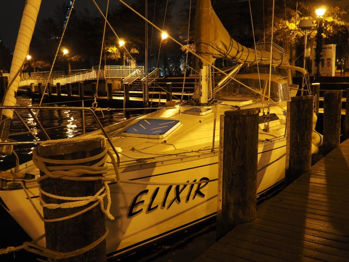 Elixir at the end of day one. Portsmouth Virginia