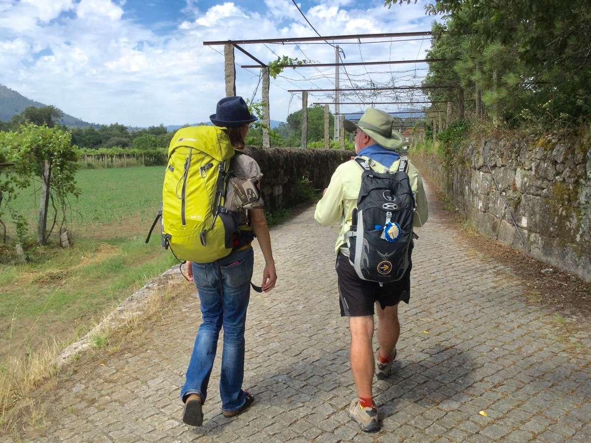 Trails and Trains through Portugal and Spain - Part 1     (Camino Portuguese, Camino Finesterre-Muxia)
