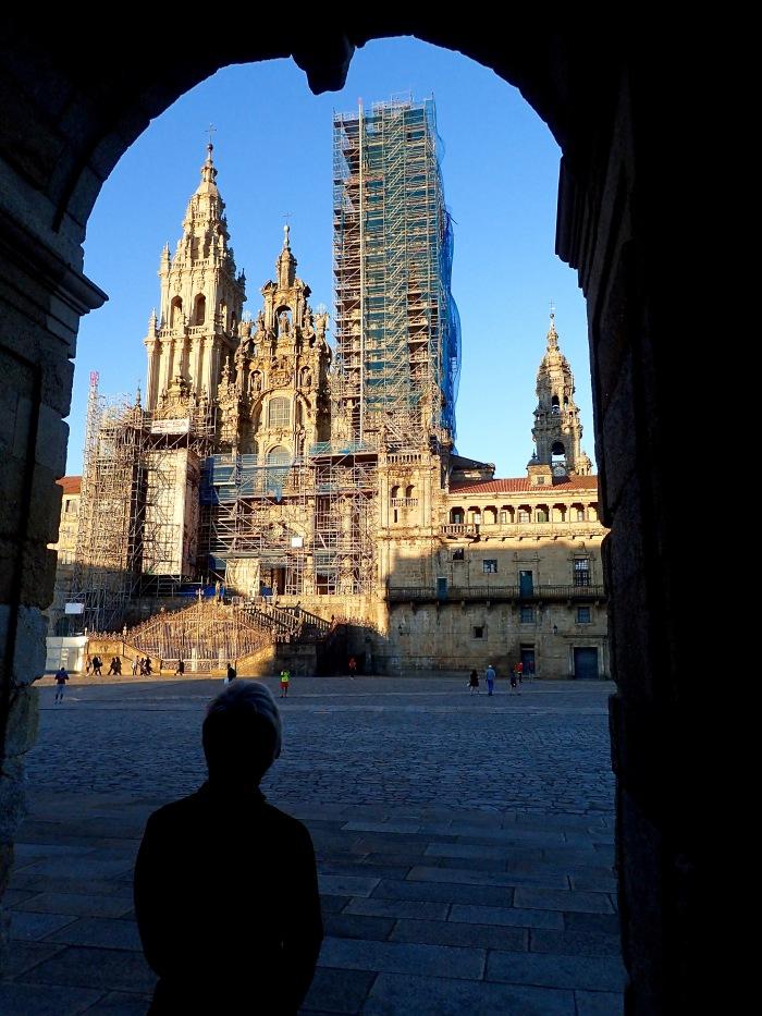 The Cathedral in Santiago de Compostela, Spain.